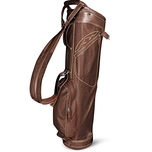 Sun Mountain Leather Collection Sunday Golf Bag