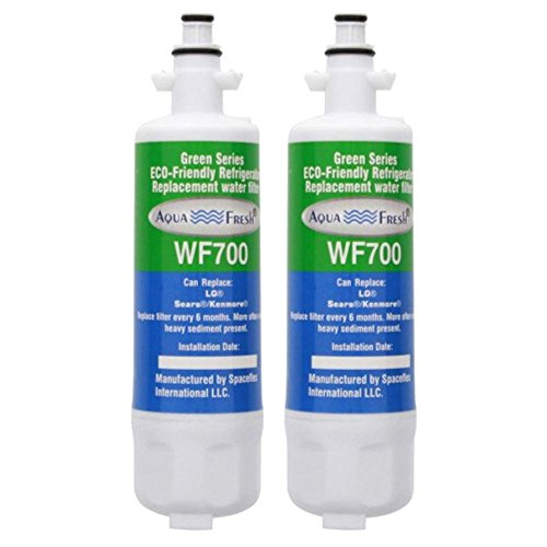AquaFresh Replacement Water Filter for LG LMXS27626S Refrigerators 2 pack