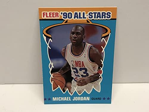 Michael Jordan 1990-91 FLEER All Star card #5