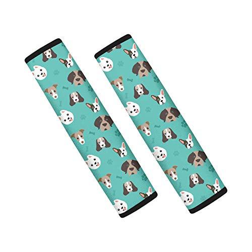 Agroupdream 2 stks/set Autostoel Riem Comfort Harnassen Schouderband Cover Reizen voor Volwassenen Kinderen Kinderen Hond