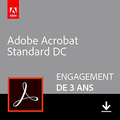 Adobe Acrobat Standard DC | Standard | 3 Années | PC | Téléchargement