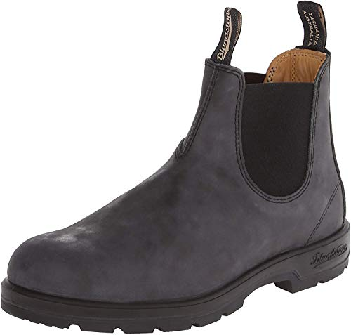 Blundstone 587 Chelsea Boot,Rustic Black,3 UK/4 M US