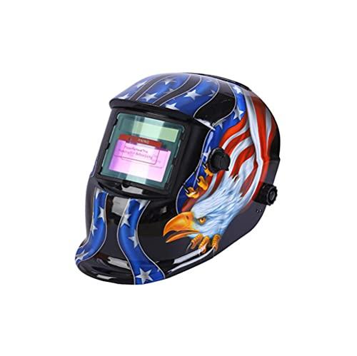 ConPush Careta Soldar Automatica Casco de Soldadura Oscurecimiento Máscara de Soldadores Caretas para Soldar ARC TIG Mig DIN9-DIN13