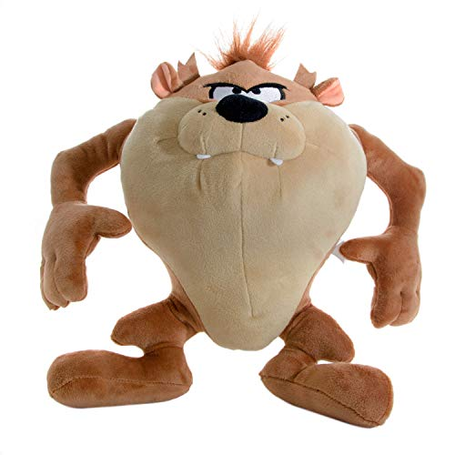 YuMe maxx11605 Plüschfigur Looney Tunes - Tasmanischer Teufel, ca. 30 cm, braun