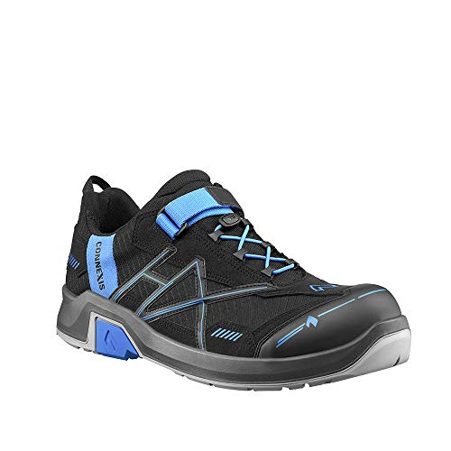 Haix CONNEXIS Safety T S1 Low/Black-Blue. UK 9.5 / EU 44