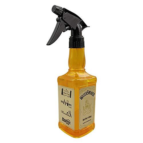 Flacon vaporisateur 3 Pack coiffure pulvérisation d'eau de bouteilles en plastique Vaporisateur fleur plante eau Pulvérisateur 450ml Contenants réutil