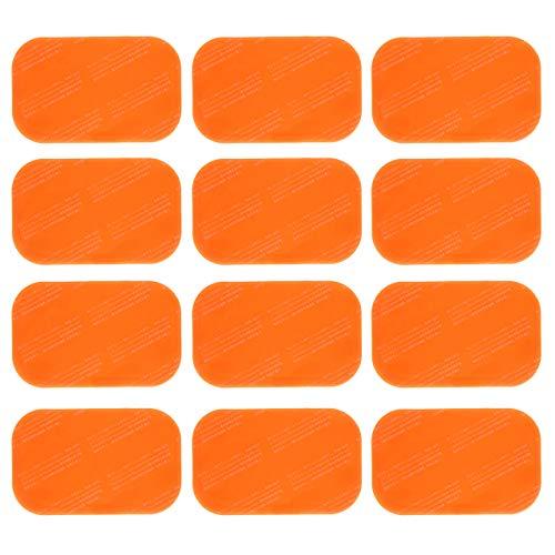 高電導ジェルシート 交換用互換ジェルシート 日本製ジェル採用 EMS 腹筋 トレーニング 3枚入り×6袋 計18枚 3セット分