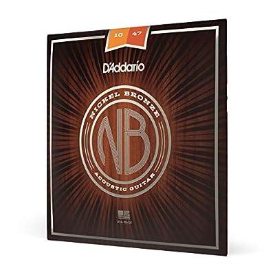 D'Addario Nickel Bronze Acoustic Guitar Strings