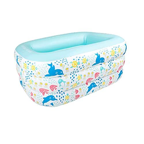 WWKDM1 Piscina Inflable Xiao Yu Piscina Inflable para niños, bañera Familiar, Cubo de natación, Exterior, jardín, Piscina Familiar de Patio Trasero