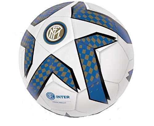 MONDO. Balón de fútbol del Inter de cuero Play Ball, producto oficial