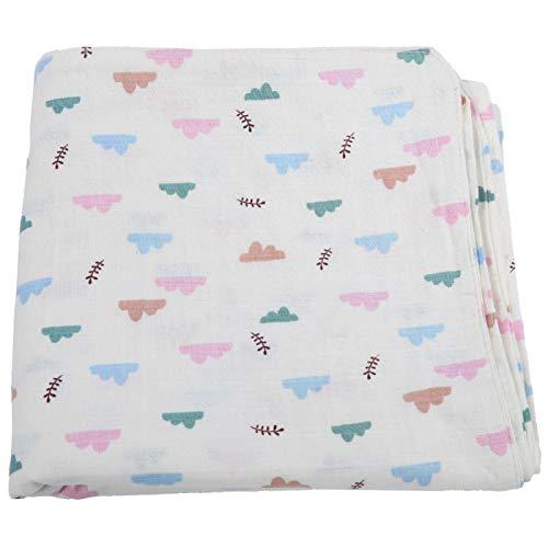 Baby Essentials Toallas y toallitas con capucha para bebés, para mantener el calor y la transpirabilidad para bebés, niños pequeños, bebés(Clouds, Blanket 75 * 75cm)