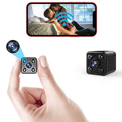 Mini WiFi Camera 4K Wireless Security Nanny Cam Small Convert Video...
