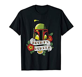 Star Wars Boba Fett Bounty Hunter Tattoo Art T-Shirt