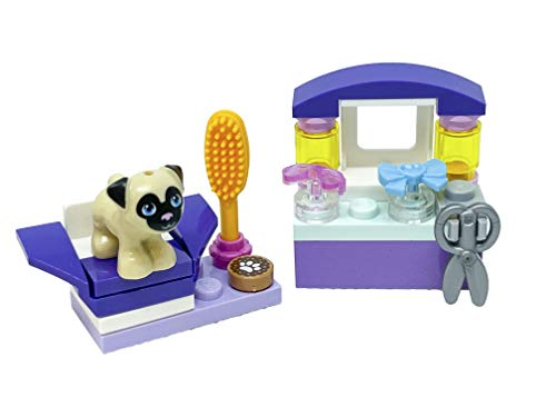 LEGO Juego de accesorios para amigos: peluquería para perros con toffee (26 piezas)