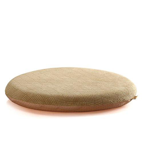 OSHDKSLDS Coton de mémoire Anti-dérapant Tour Bureau Coussin Plus épais à Manger Coussins de Chaise-D diamètre42cm(17inch)