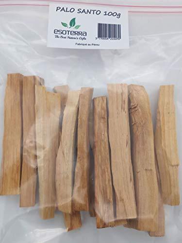 ESOTERRA Palo Santo Pérou 100g - Purification Bois Sacré - Origine et qualitée contrôlée