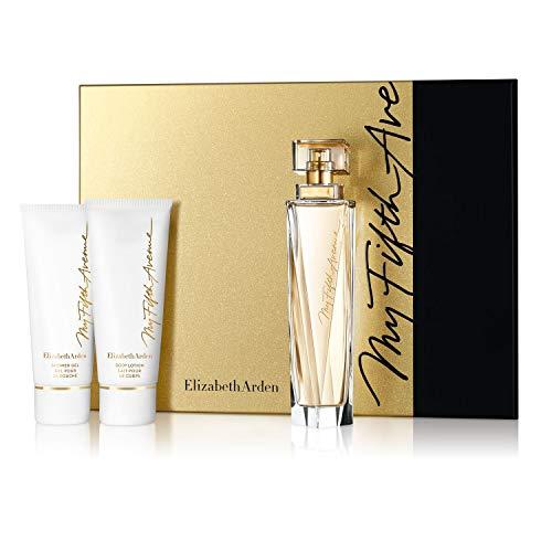 Elizabeth Arden - My Fifth Avenue - Coffret Eau de Parfum Vaporisateur & Lait pour le Corps & Gel Douche - 100 ml