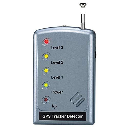 lxxiulirzeu GPS Tracker Detector gsm Bug Detector Anti-Seguimiento de Alta sensibilidad gsm Detector de señal de teléfono móvil Seguridad