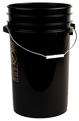 10 gallon bucket with lid - 8