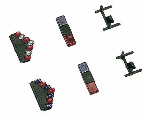 Busch Voitures - BUV49961 - Modélisme Ferroviaire - Set d'Insignes Modern USA