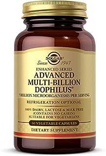 Solgar Advanced Multi-Billion Dophilus, 60 Vegetable Capsules - Supports Healthy Intestinal Flora - 5 Billion Microorganis...