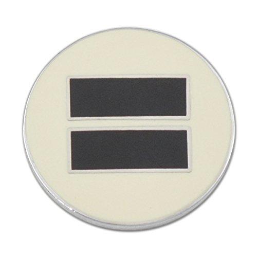 EvolveFISH Equality Lapel Pin - [3/4