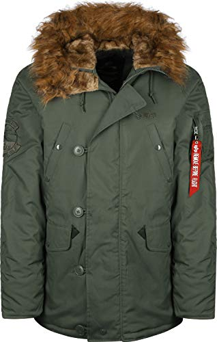 Alpha Industries Explorer Jacke Vintage Green