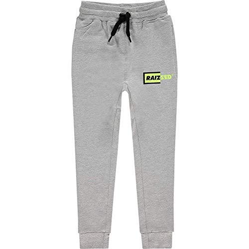 Raizzed sweatbroek jongens joggingbroek broek Sanford Light Grey Melee