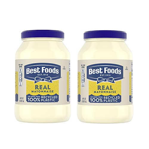 food mayonnaises Best Foods Real Mayonnaise Gluten Free 48 oz Twin Pack
