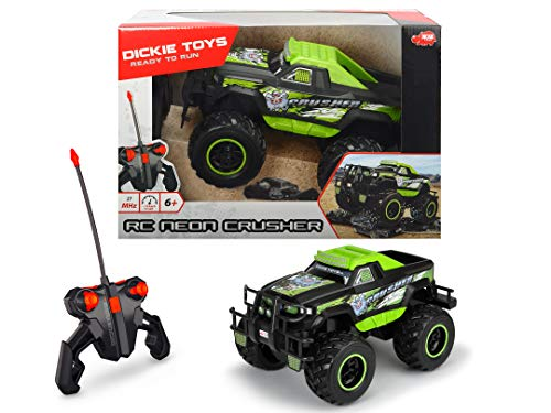 RC Monstertruck kaufen Monstertruck Bild 1: DICKIE-Spielzeug 201119108 201119108-RC Neon Crusher, RTR, Ferngesteuerte Fahrzeuge*