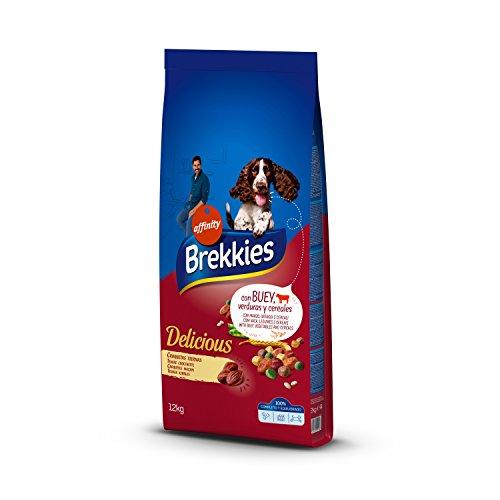 Brekkies Pienso para Perros Delicious con Buey - 12000 gr ⭐