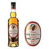 Etiqueta personalizada para botella de ron Rhum Negrita para cumpleaños, Navidad, cualquier ocasión BL200