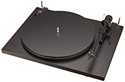 Pro-Ject Essential II Matte Black Turntable with Ortofon OM 5E Cartridge