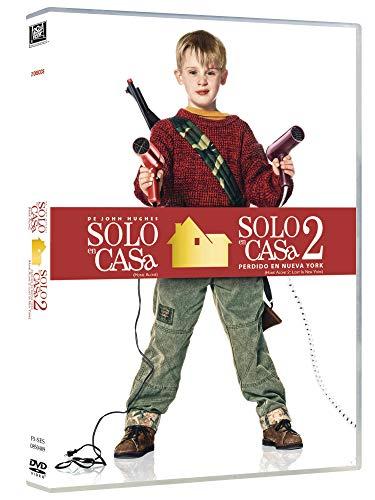 Solo En Casa 1 +2 (2018) [DVD]
