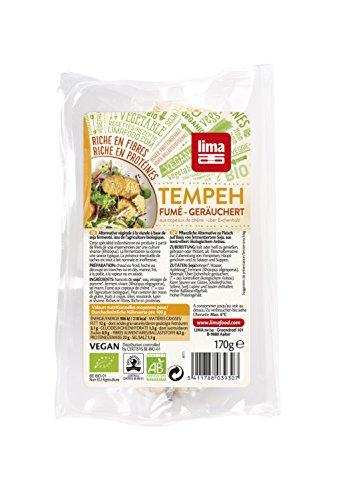 LIMA Tempeh Frisch Geräuchert, 6er Pack (6 x 170 g)