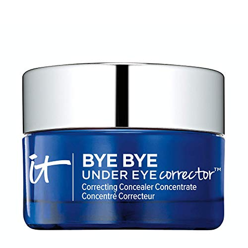 IT Cosmetics Bye Bye Under Eye Corrector, Light (W) - Lightweight, Hydrating Concealer - Covers Dark Circles, Bags, Age Spots & Discoloration - With Hydrolyzed Collagen - 0.17 oz