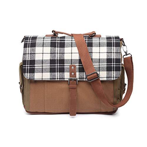 Convertible Backpack Messenger Bag Shoulder Bag Laptop Case 16inch Handbag Business Briefcase Multi-Functional Travel Rucksack Fits Laptop for Men/Women (Style # 11)
