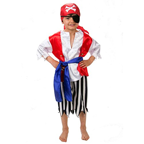 Déguisement Pirate Enfant - Taille 3-4 ans - Slimy Toad