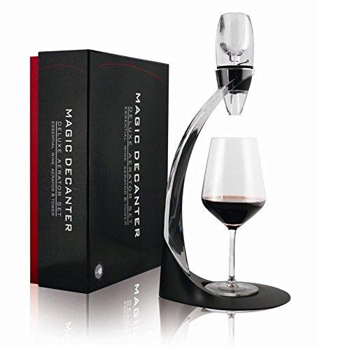 efly Aérateur à vin Carafe à décanter – Best pour Décanter vin rouge – Un excellent cadeau pour elle et lui amateurs de vin