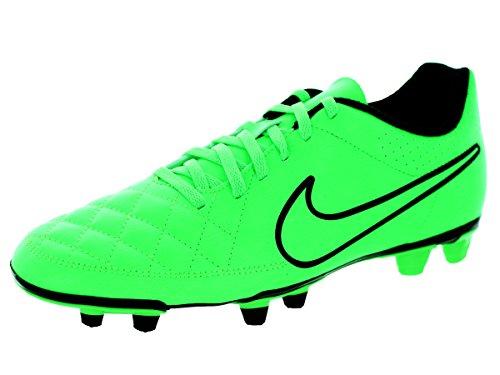 Nike Tiempo Rio II FG Herren Strandschuhe, - Green Strike Black Black - Größe: 40.5 EU