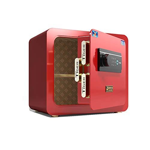 GLLP Safe Home - Mesita de noche de acero invisible de 35 cm, carpeta de restablecimiento de contraseña de 10 mil oficina