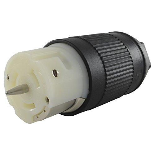 Conntek CS6364 50-Amp 125/250-volt Generator Power Cord Connector for Up to 12500 Watt Generators