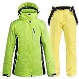 Yeah-hhi Traje de esquí de invierno, cálido, impermeable, resistente al...