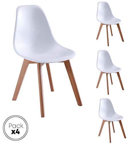 Beat Vintage 17 : Design Chaise avec Pieds en