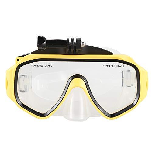 GoPro Hero / DJIOsmoアクションカメラアクセサリー用の取り外し可能なネジ付きマスクマウントダイビング水中スイミンググラス