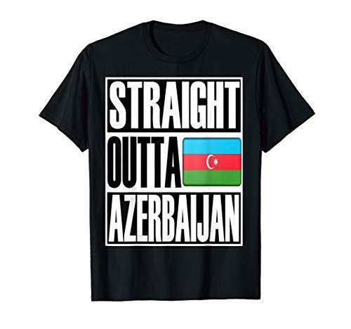 Flagcastle: Straight Outta Azerbaijan T-Shirt