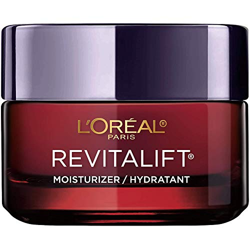 Anti-Aging Face Moisturizer by L'Oreal Paris Skin Care, Revitalift Triple Power Anti-Aging Moisturizer with Pro Retinol, Hyaluronic Acid & Vitamin C to reduce wrinkles, firm and brighten skin, 1.7 Oz