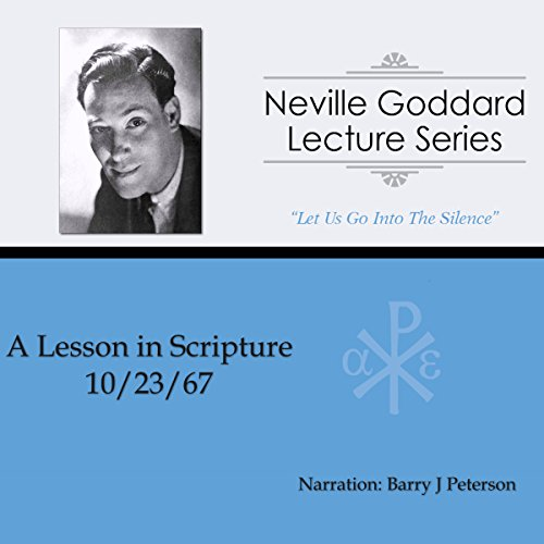 A Lesson in Scripture audiobook cover art