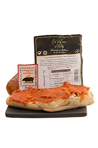 Sobrasada - Streichwurst aus Mallorca vom schwarzen Schwein 175gr