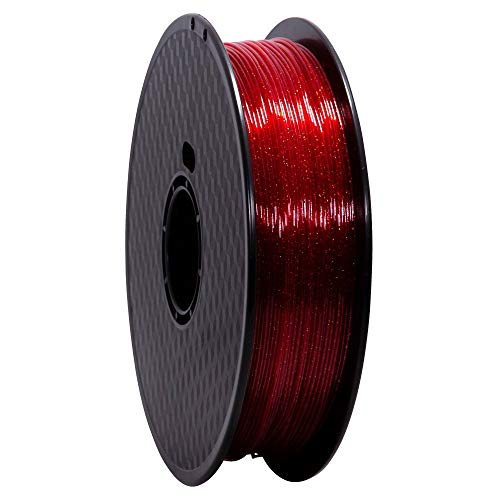 Wanhao Filament: Premium Pet Constellation Red 1 kg/1.75 mm – Filament for 3D Printer
